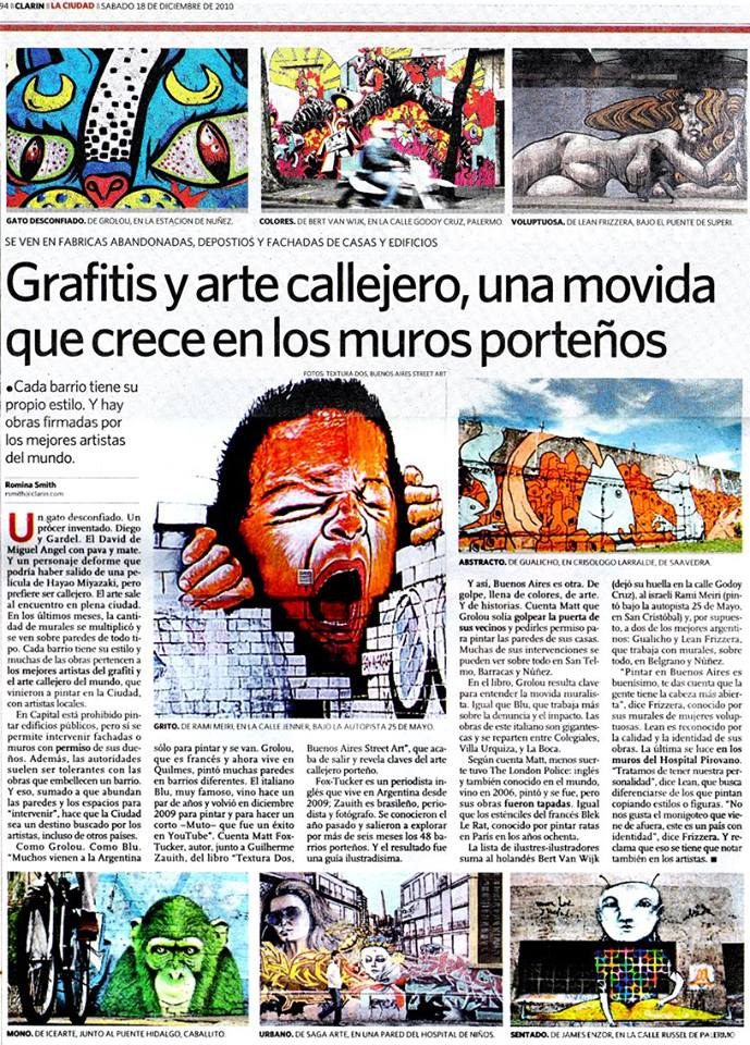 Graffittis y arte callejero