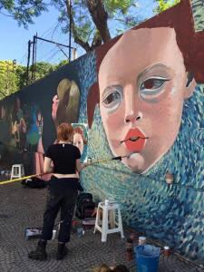 Taller Muralismo Georgina Ciotti