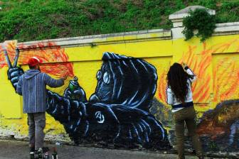 Taller Introducción al Graffiti y Street Art, Cristian Kave