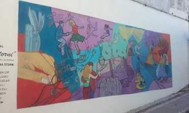Taller de Muralismo, Brenda Cap
