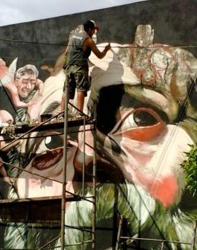 Taller de Mural y Pintura, Juan Iesari