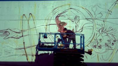 Taller de Muralismo de Verano - Juan Iesari