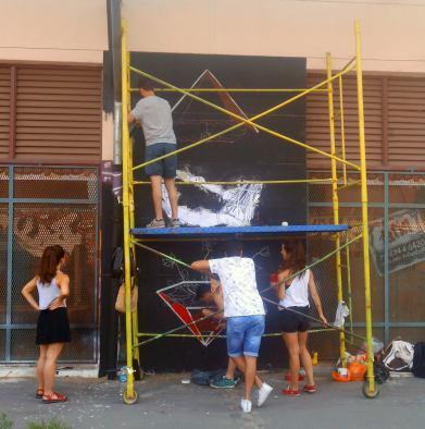 Taller Muralismo - Morazul Arte