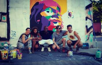 Taller Express de Muralismo por Juan Iesari