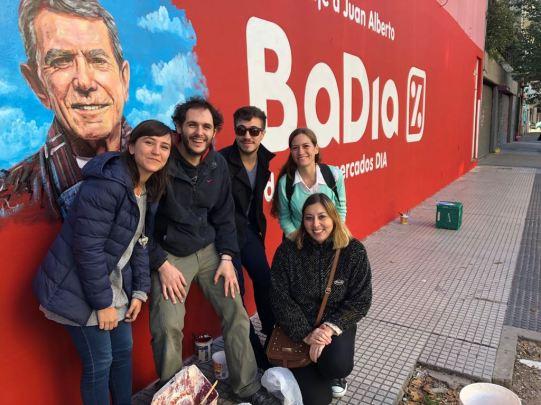 Mural Juan Alberto Badia