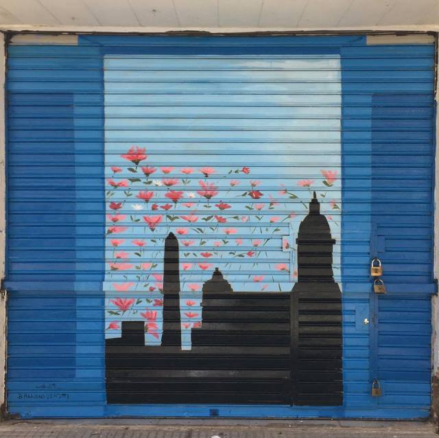 Mariano Venditti mural en Once