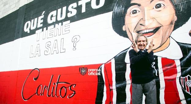 Mural Carlitos Bala Club Atético Chacarita Juniors