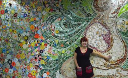 Karina Zinik - Mosaiquismo - Mural Maternidad Sarda