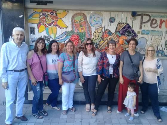 Mosaiquismo Karina Zinik Club Peretz
