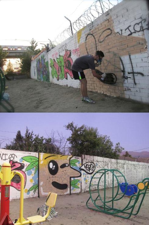 Muralismo, Graffiti