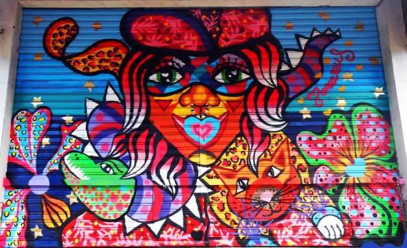 Street Art - Persianas - Muralismo
