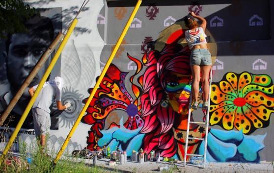 Morazul, Muralismo Buenos Aires