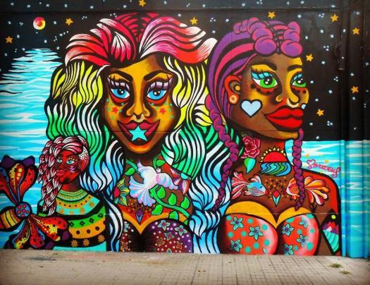Murales Buenos Aires, Street Art, Muralismo, Mujeres Muralistas