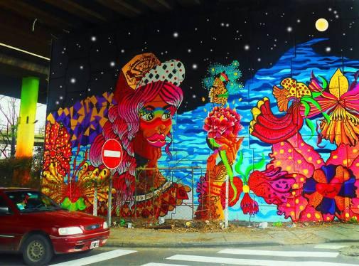 Artistas Muralistas Mujeres Buenos Aires