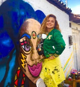 Morazul artista muralista