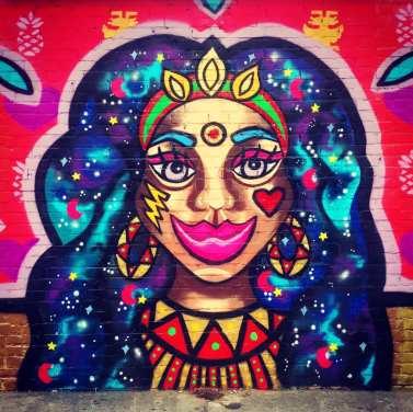 Urban Art Mujeres