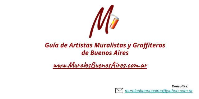 Guia de Muralistas y Graffiteros